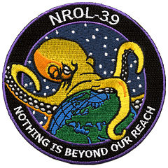 "Mission ""patch"" of NROL-39"