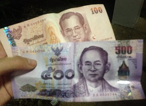 600 Baht sind ca. 15,- €