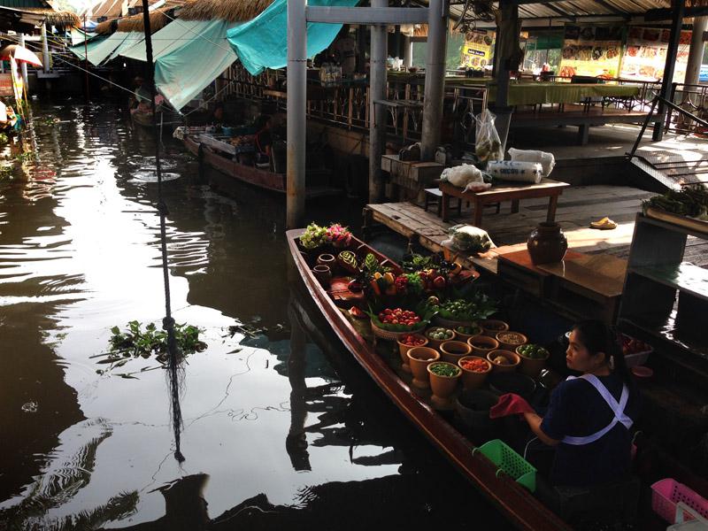 Flooting Markets – hier wird noch auf dem Boot gekocht!