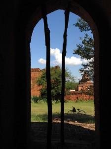 """Drei Tage lang erkundeten wir Bagan mit ausgeliehenen Fahrrädern – wobei """"Fahrrad"""" vielleicht etwas euphemistisch ausgedrückt ist..."""