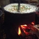 Gekocht, gebraten und frittiert wird oft über offenem Feuer