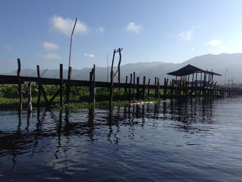 Das Volk der Intha lebt nicht nur am – sondern auch auf dem See.