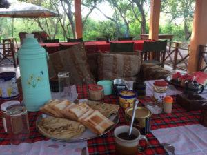 6:30 gibts Frühstück