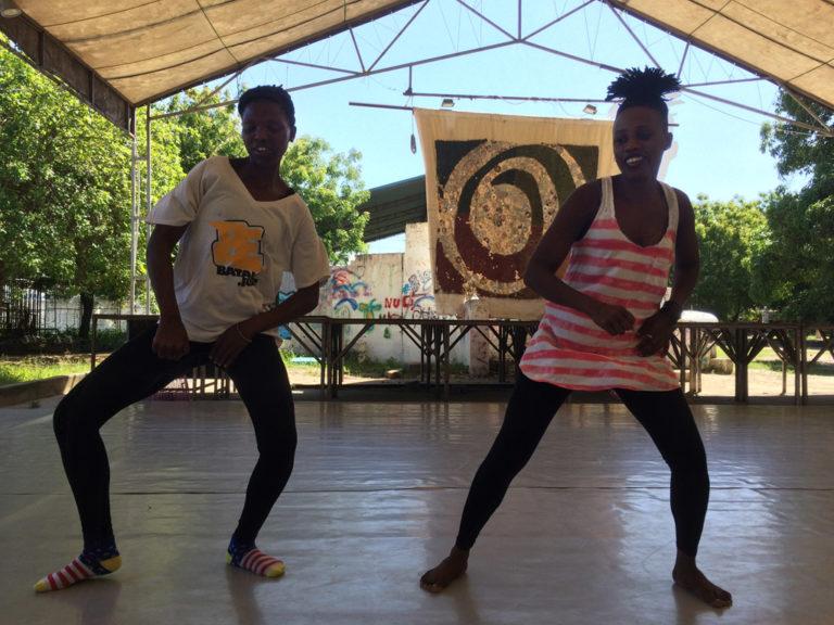 Tänzer beim Training