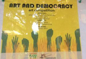 Kunst und Politik gehören im Nafasi Art Center eng zusammen