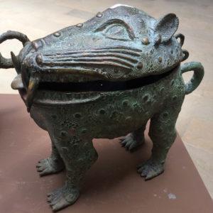 Insbesondere die Bronzen aus Benim finde ich großartig! Ungefähr alles, was in dem Empire (1440 – 1897) hergestellt wurde, diente der Ehre des Herrschers.