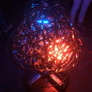 LED-Bänderkugel